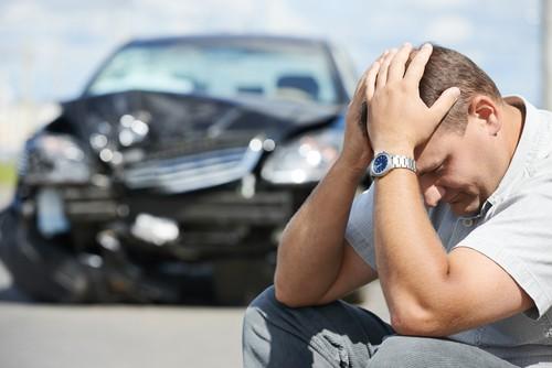 פגיעה באדם בעקבות תאונה
