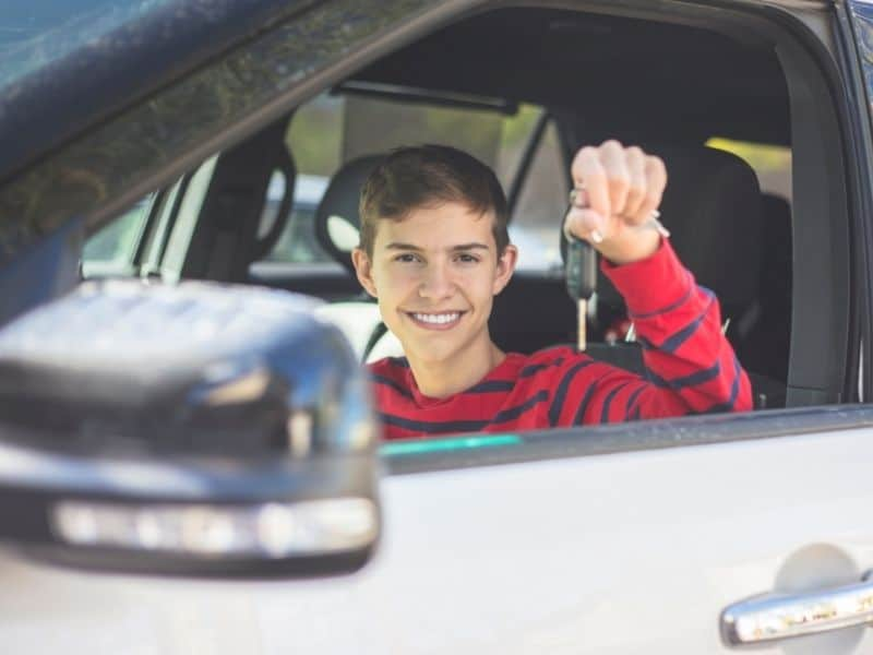 נהג צעיר נהיגה בשכרות